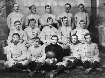Bloomsburg State Normal School's First Football Team (1892)