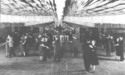 Dance held for the 10th Homecoming in 1937