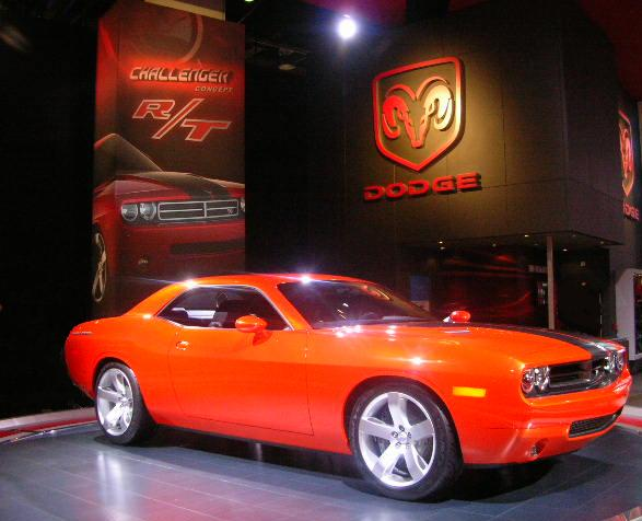 2008 Dodge Challenger (Photo provided by www.dodgechallenger.com)