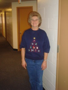 Linda Marr: a woman who possesses Christmas cheer all year.