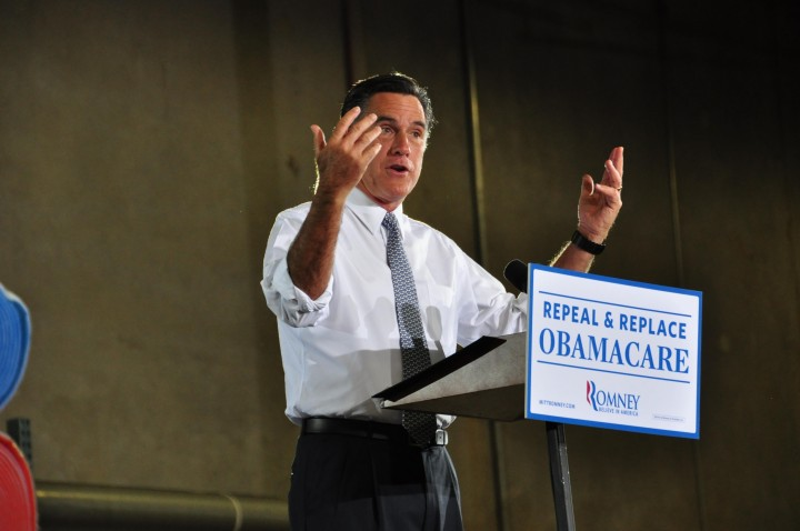 Mitt Romney addresses his concerns about President Obama
