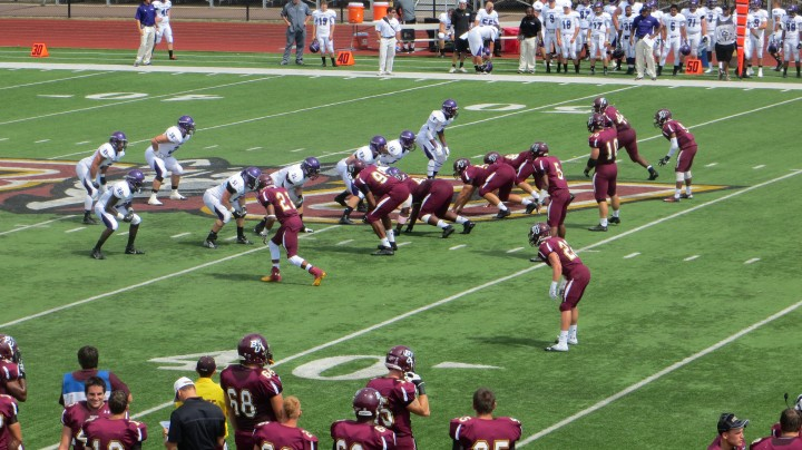 Bloomsburg Football Defeats Stonehill In Opener Bunow Bloomsburg