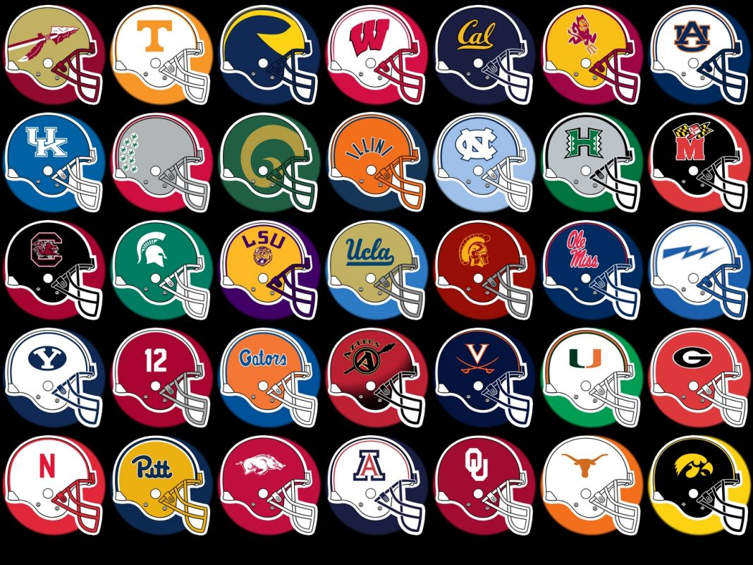 college foot all all college football
