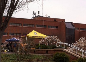 Tents Outside SSC for Earth Day