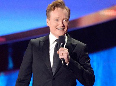Conan O'Brien hosting the 2014 MTV Movie Awards (photo from www.eonline.com)