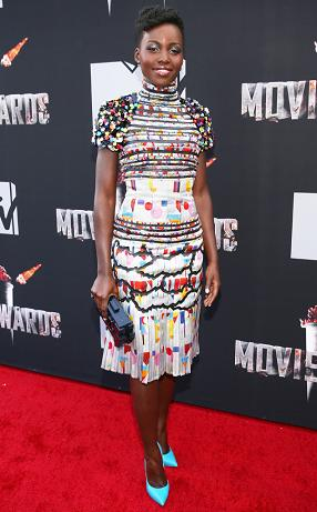 Lupita Nyong'o stuns in Chanel (photo from www.eonline.com)