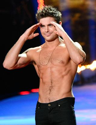 You're welcome everyone. Zac Efron after Rita Ora ripped his shirt open. (Mazur/WireImage photo from www.eonline.com)