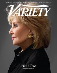 Walters on the cover of Variety after announcing her retirement (photo from www.variety.com)