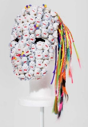 "Another mask from ""Dirty Hippie"""