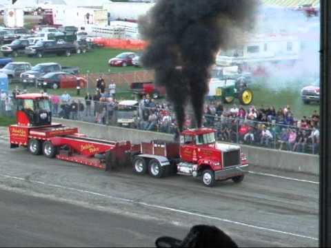 Tractor pull at the Bloomsburg Fair