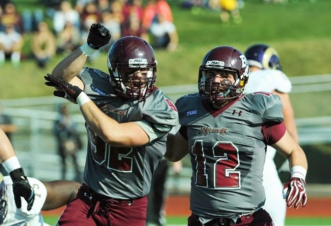 The Huskies currently have the top-ranked  defense in the PSAC, only letting up 13.8 points-per-game.  (Bloomsburg University Sports Information)