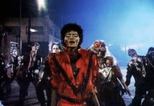 Scene for the Thriller Video