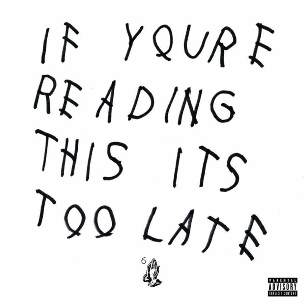 If You're Reading This It's Too Late Album Cover