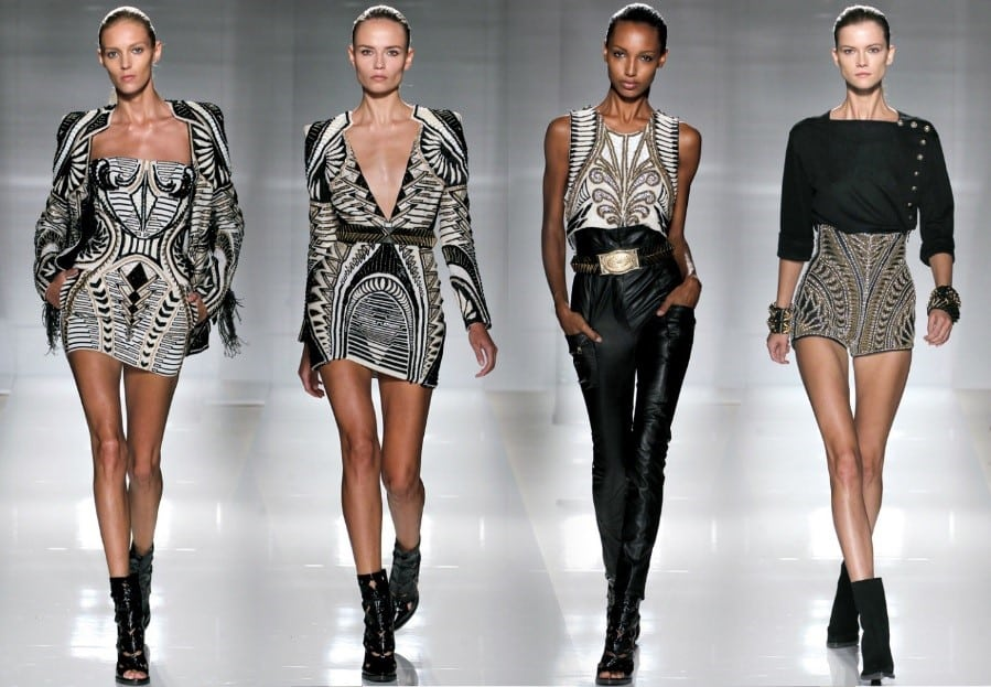 Balmain X Olivier Rousteing's H&M Collection - BUnow ...