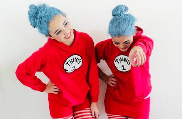 thing 1 and 2 girls