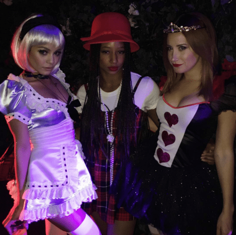vanessa hudgens monique coleman ashley tisdale - Halloween Costume Celebrities