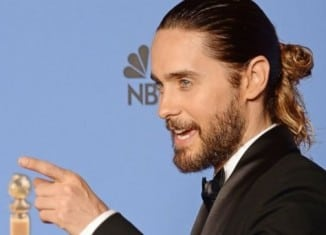 Actor, Jared Leto rockin' in 'mun.'