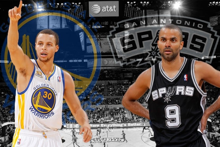 Warriors and Spurs