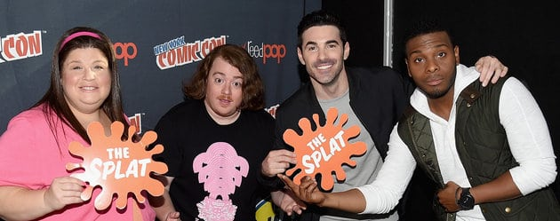 NEW YORK, NY - OCTOBER 10: (L-R) Lori Beth Denberg, Danny Tamberelli, Josh Server and Kel Mitchell attend The Splat: All That Reunion At New York Comic-Con on October 10, 2015 in New York City. (Photo by Bryan Bedder/Getty Images for Nickelodeon)