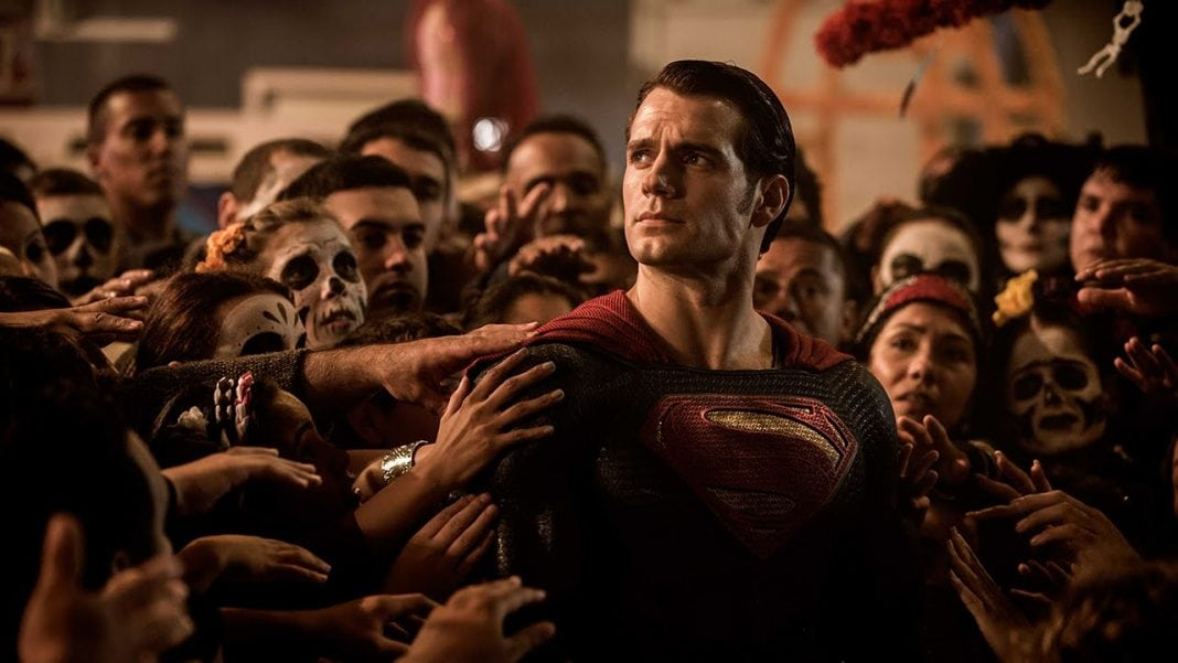 superman with people