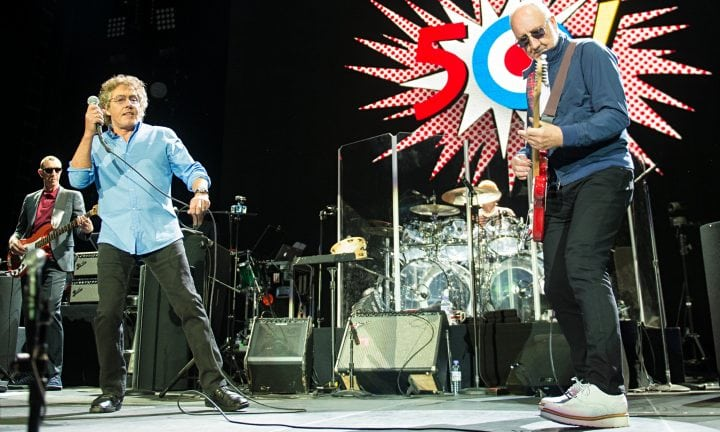 The Who Perform At The O2 Arena
