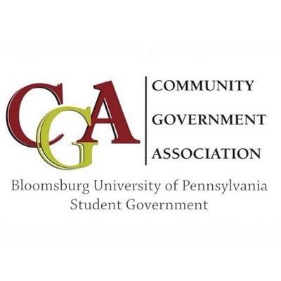 Community Government Association of Bloomsburg University Student Government logo