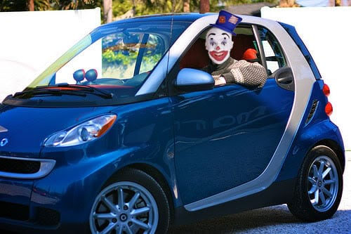 Sunbury Motors Kia Uses Recent Clown Hysteria For
