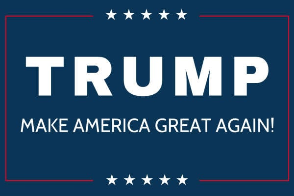 Trump s not the first to promise to make america great for Make america great again wallpaper